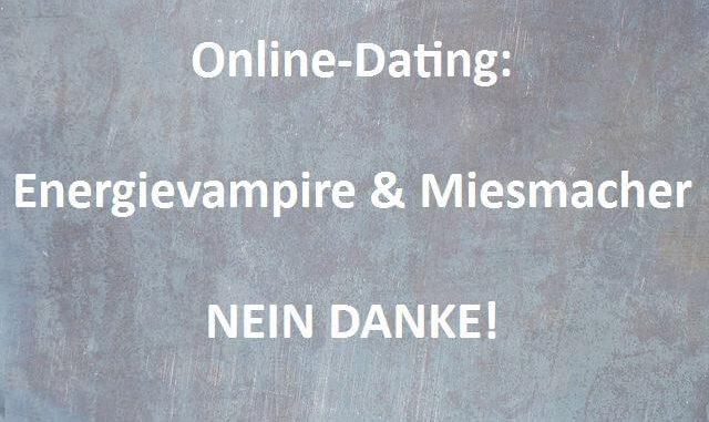 Energievampire beim Dating nicht erwünscht!